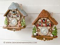 Themaworkshop Gingerbread Koekoeksklok in Vosselaar (BE)