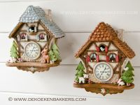 Themaworkshop Gingerbread Koekoeksklok in Zwijndrecht (NL) 1