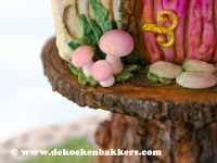 Themaworkshop Gingerbread Fairy House in Voorburg (NL) 1