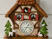 Gingerbread Fairy House & Cuckoo Clock classes in Altdorf (CH) 2