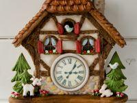 Workshop Gingerbread Koekoeksklok in Hardinxveld (NL) 2
