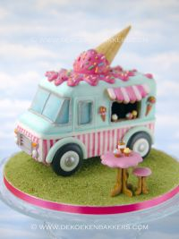Themaworkshop Vintage Ice Cream Truck (Zwijndrecht NL)