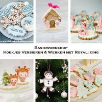 Basisworkshop Koekjes versieren & Royal Icing in Zwijndrecht (NL)
