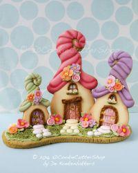 Workshop 3D Elfenhuisjes + Herfst/Halloween koekjes (Vosselaar BE)