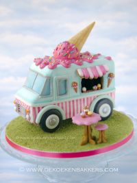 Themaworkshop Gingerbread Ice Cream Truck in Heerlen (NL)