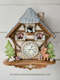 Gingerbread Fairy House & Cuckoo Clock classes in Altdorf (CH)