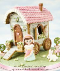 Themaworkshop Fairy House & Gypsy Caravan in Brugge (BE)