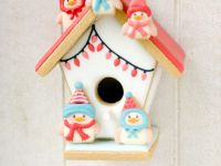 Gingerbread Bird House