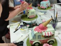 Ice Cream Truck class at Cake, Bake & Love in Voorburg (Netherlands)