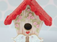 3D Gingerbread Birdhouse