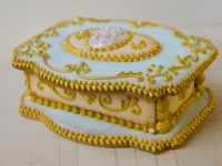 3D Cookie Jewelry Box Marie Antoinette