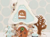 3D cookies scene Winter