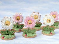 3D Pink Flower cookies