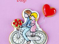 Biscycle Cookie Valentine's day