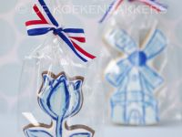 Delfts blue cookies