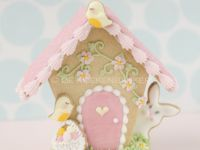 Gingerbread Easter Bunny house
