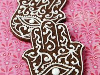 Hamsa Cookies