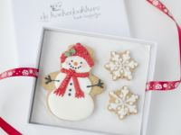 Christmas Cookie card Let it snow!