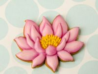 Lotus cookie