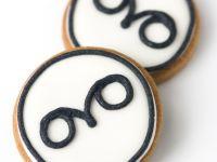 Owl logo cookies