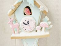 Winterwonderland Gingerbread Cuckoo clock